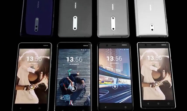 Screenshot of the leaked Nokia video.