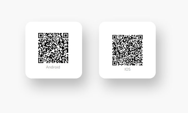 Use these QR codes to download the official Goods.PH mobile apps.