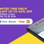 Lazada Offers 40% Discount on Cellphone Load for Smart, Globe and Sun Cellular