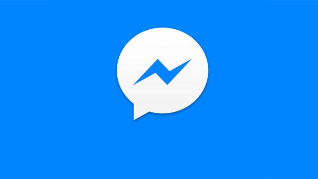 The Messenger Lite logo has reversed colors of the full Messenger.