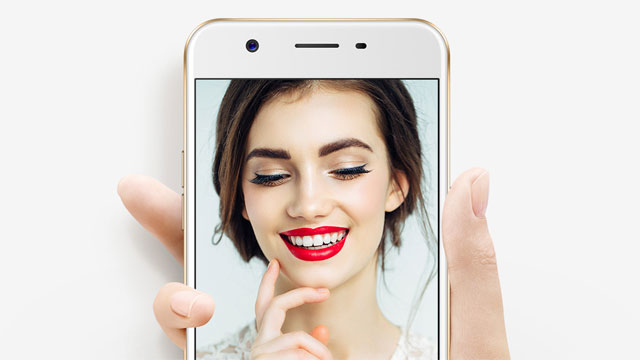 The OPPO A57 boasts a 16 Megapixel selfie camera.