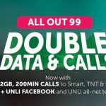 Double Data and Calls with Smart ALLOUTSURF 99!