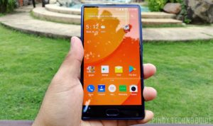 The Doogee Mix smartphone in the flesh!