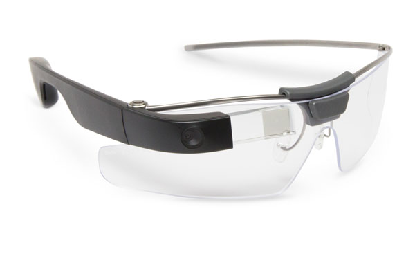 Up close with the Google Glass Enterprise Edition.