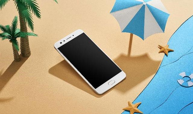 The OPPO F3 smartphone.