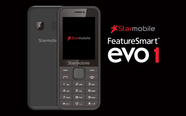 Meet the new Starmobile FeatureSmart Evo 1!