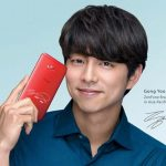 Zenfone brand ambassador Gong Yoo with the new ASUS Zenfone 4 Selfie.