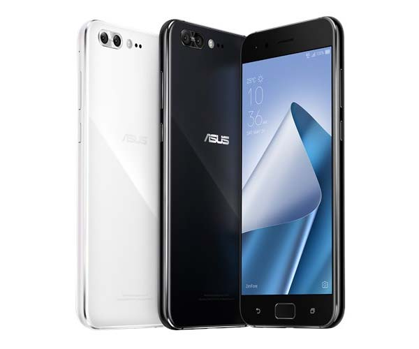 The ASUS Zenfone 4 Pro comes in just two colors - white and black.