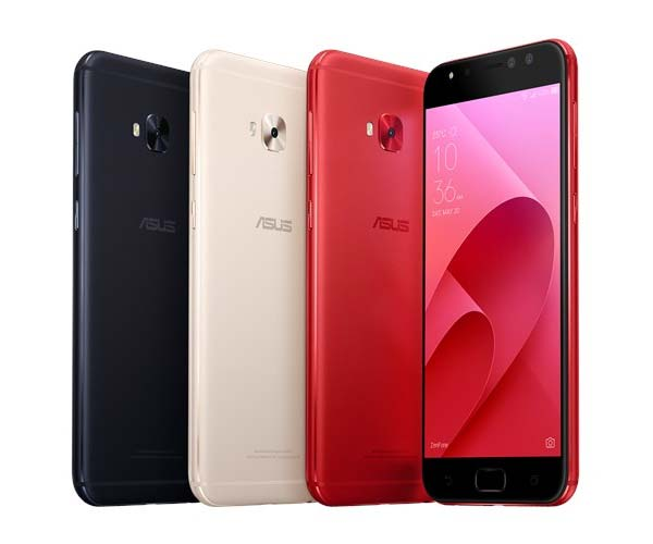 The ASUS Zenfone 4 Selfie Pro is available in black, gold and the stunning red!