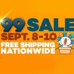 99 SALE: Lazada Offers FREE Shipping Nationwide on Sept 8-10