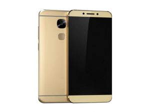 The Firefly Mobile X626 smartphone in gold.