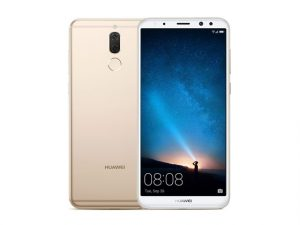The Huawei Nova 2i smartphone in gold.