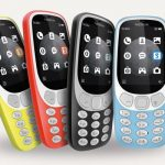 The new Nokia 3310 3G.