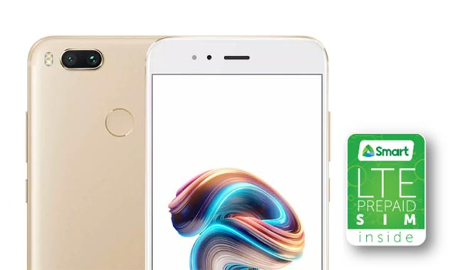 Each purchase of the Xiaomi Mi A1 comes with a free SIM card.