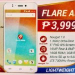 Cherry Mobile Flare A5 has 3GB RAM, 700MHz LTE and FHD Display for ₱3,999
