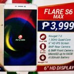 Cherry Mobile Flare S6 Max has 6-Inch Display and 4100mAh Battery
