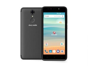 The Cherry Mobile Flare S6 smartphone in gray.