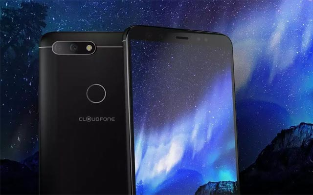 This is the Cloudfone Next Infinity Quattro smartphone.