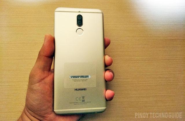 Hands on with the Huawei Nova 2i smartphone.