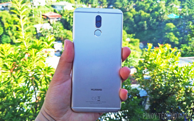 Hands on with the Huawei Nova 2i smartphone.