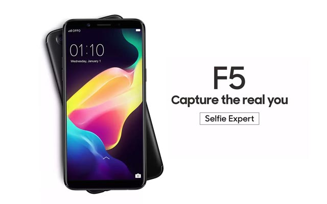 Meet the new OPPO F5 smartphone!