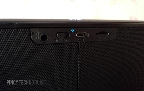Royqueen DB Bluetooth Speaker input modes