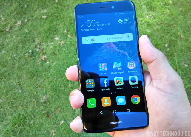 Hands on with the Huawei GR3 2017 smartphone.