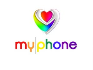 The MyPhone logo.