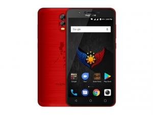 The MyPhone myA10 smartphone.