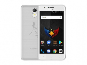 The MyPhone myA9 DTV smartphone.