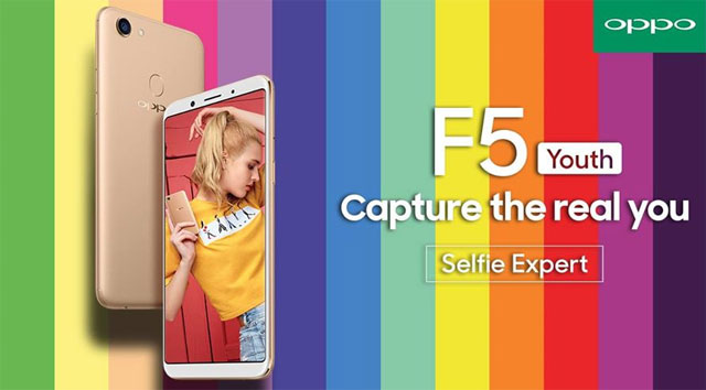 This is the OPPO F5 Youth.