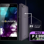 Meet the Cloudfone Thrill Snap!