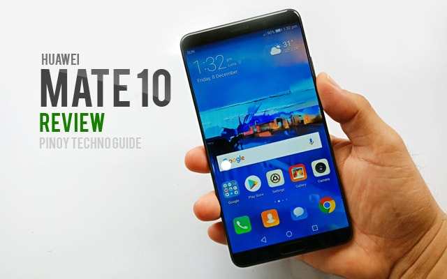 Hands on with the Huawei Mate 10.