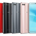 The Huawei Nova 2s comes in different colors.