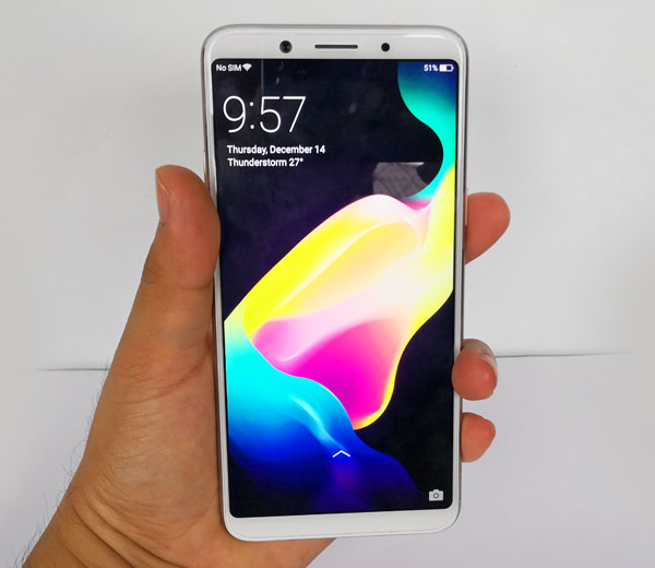 Hands on with the OPPO F5.