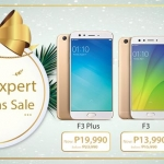OPPO F3, F3 Plus and A57 Get Discounts for Christmas Sale 2017