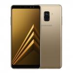 The Samsung Galaxy A8 (2018) smartphone.