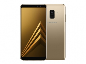 The Samsung Galaxy A8 (2018) smartphone.