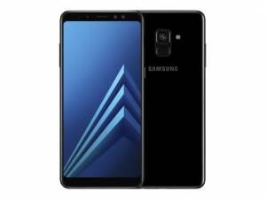 The Samsung Galaxy A8 Plus (2018) smartphone.