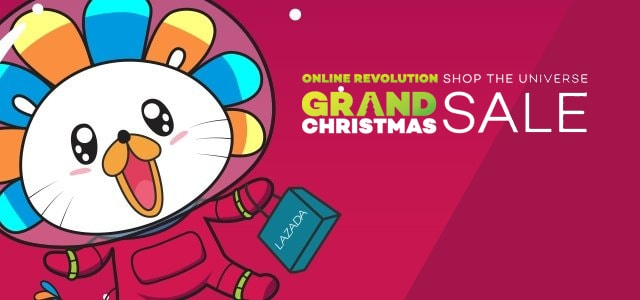 Lazada Online Revolution and Grand Christmas Sale!