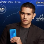 Actor Gerald Anderson for the ASUS Zenfone Max Plus M1.