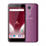 The Cherry Mobile Flare P3 Lite smartphone in purple.