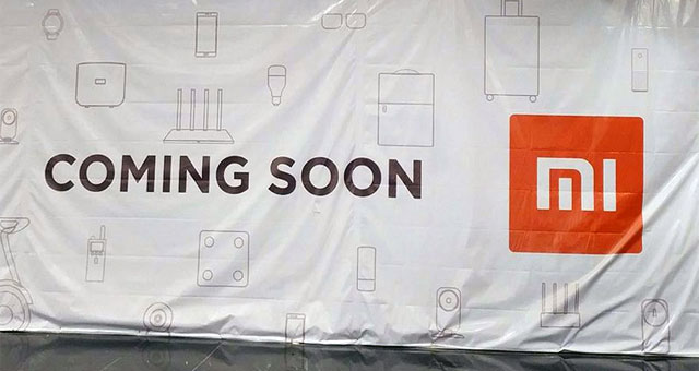 A Xiaomi store is opening soon!