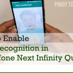 [VIDEO] How to Enable Face Recognition in Cloudfone Next Infinity Quattro