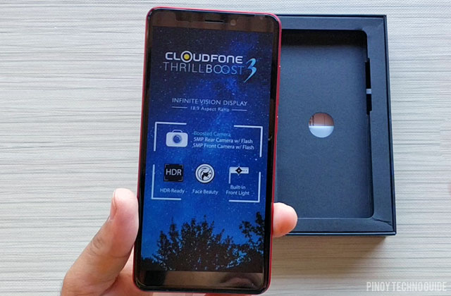 Unboxing the Cloudfone Thrill Boost 3.