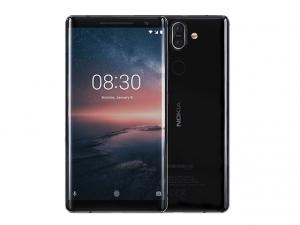 The Nokia 8 Sirocco smartphone.