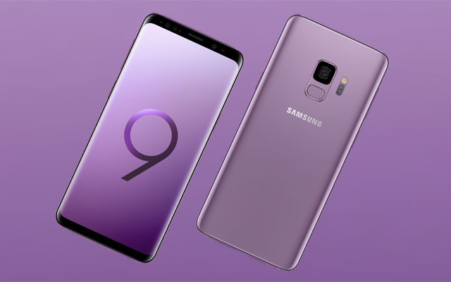 Meet the Samsung Galaxy S9 in the new lilac purple color!