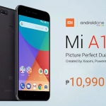 Official price of the Xiaomi Mi A1 in the Philippines.
