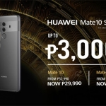 Huawei Mate 10 and Mate 10 Pro Price Drop of up to ₱3,000!