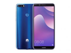 The Huawei Nova 2 Lite smartphone in blue color.